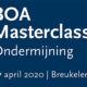 BOA Masterclass Ondermijning